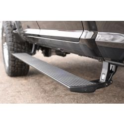 Automatic Power Deploying Running Boards W/LED Lighting System