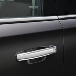 Chrome Door Handle Four Piece Set