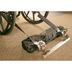 Single wheel Chair tie down (4) Q-Straints with Track for mount
