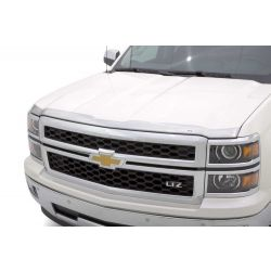 Chrome Hood Protection Low profile UV-protected tri-flex ABS
