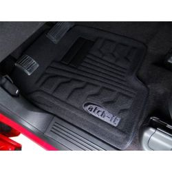 Catch-It Carpeted Floor Mats In Front And Rear