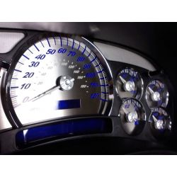 Waldoch Gauge Cluster Customer design w/Blue lighting