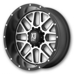 22x9 WXD820 Off Road Aluminum Wheels with Nitto Tires